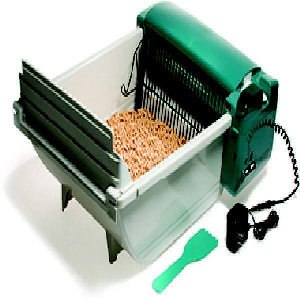 smart scoop automatic cat litter box regular