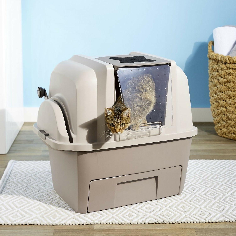 Catit SmartSift Cat Pan Sifting Scoop Tan
