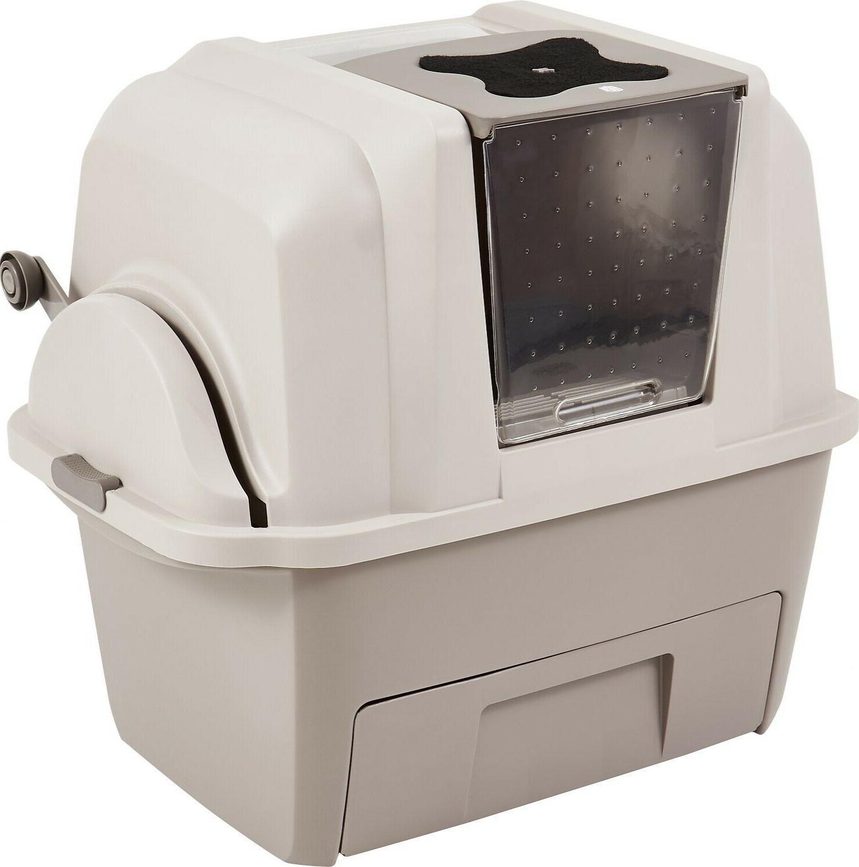 smartsift litter box cat pan sifting automatic