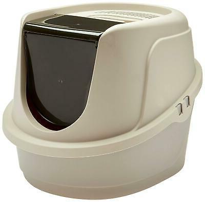 standard cat litter box pan high enclosed