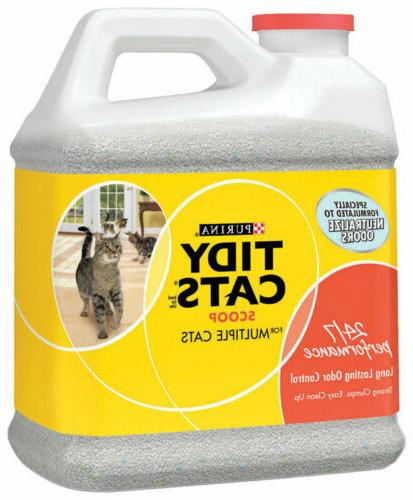 tidy cat cat litter scoopable 20 lbs