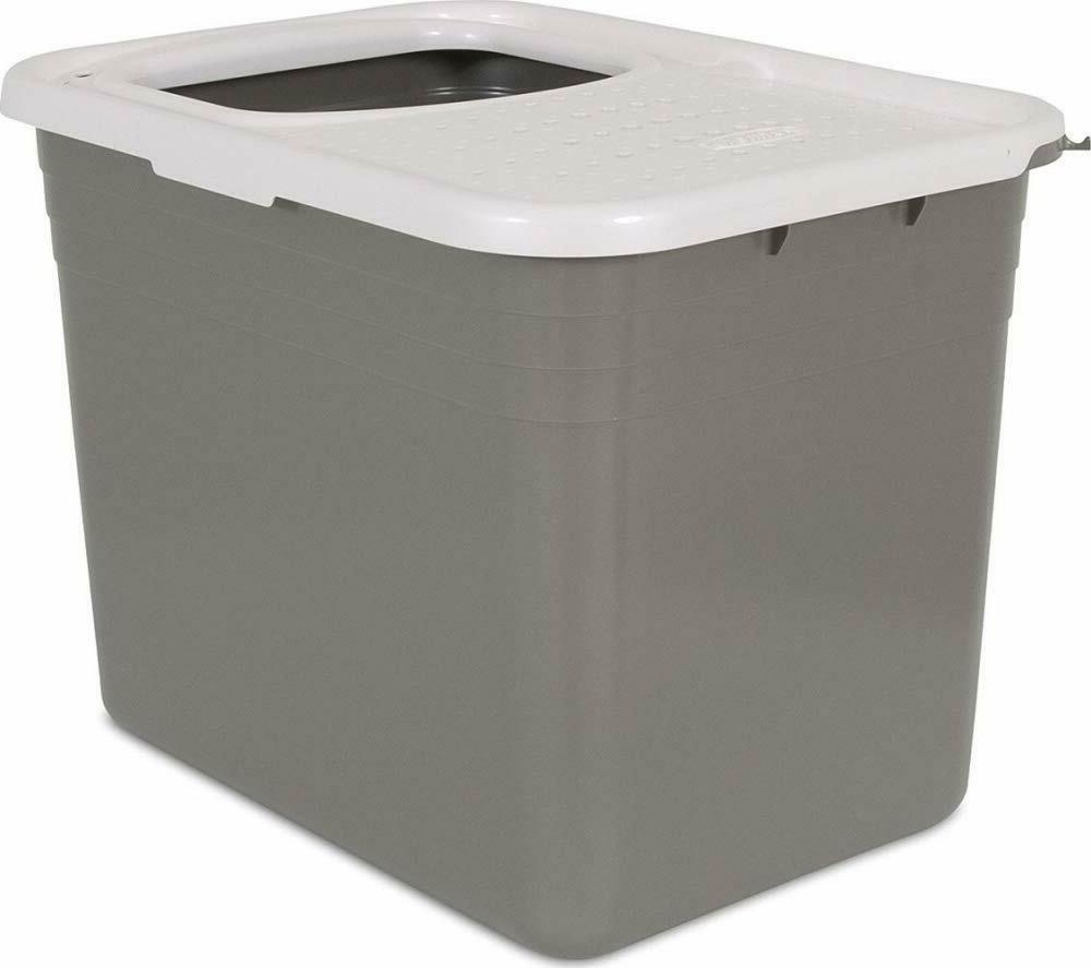 top entry cat litter box pan