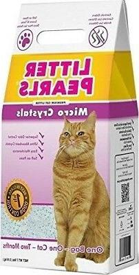 Ultra Pet Cat Litter Pearls Micro Crystals, 7-Pound Bag 7 lb