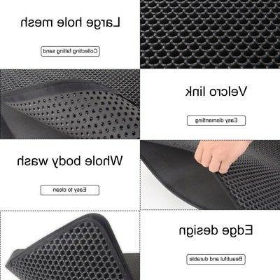 Double-Layer Mat Foldable Pad Pet Foam Rubber Rug