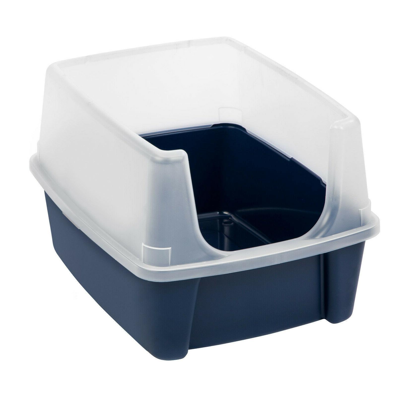 usa open top cat litter box