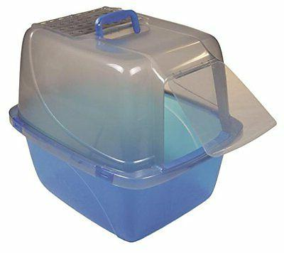 Vanness Extra-Giant Enclosed Cat Litter Pan