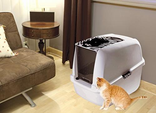 Catit White Cat White-Black