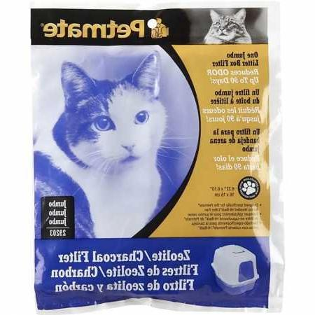 zeolite charcoal filters hooded cat