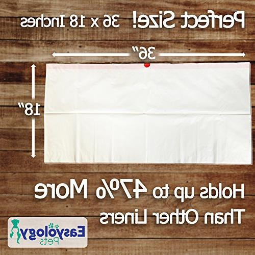Easyology Cat Box Liners - Strong Thick Litter Litter Liners Litter