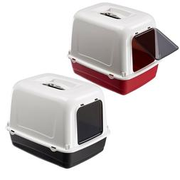 Heritage Large Deep Cat Litter Tray Box Hooded Pan Toilet Lo