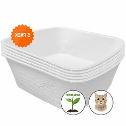 Easyology Large Disposable Cat Litter Box Odor Control Dispo