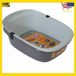 Large Self Sifting Cat Litter Pan Box 3 Part System Clean Sl