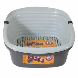 large self sifting cat litter pan box