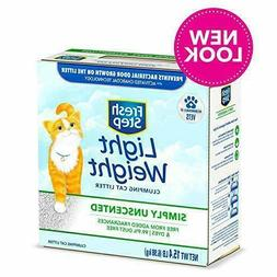 Fresh Step Lightweight Unscented Clumping Cat Litter, 15.4 l
