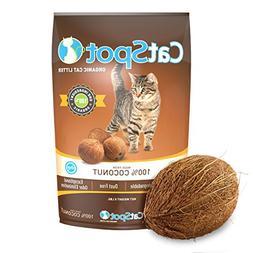 CatSpot Litter, 100% Coconut Cat Litter: All-Natural, Lightw