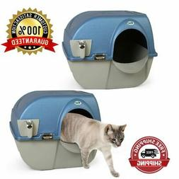 Litter Box Large Elite Self-Cleaning Ideal For Big Cats Pear