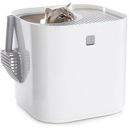 Modkat Litter Box Top-entry Looks Great Reduces Litter Track