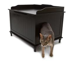 Litter Box Enclosure, Black