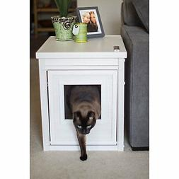 New Age Pet Litter Loo Antique White