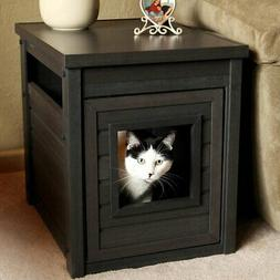New Age Pet Litter Loo EcoFLEX End Table with Hidden Kitty L