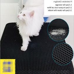 TRAP LITTER MAT - LITTER LOCKER Foldable CAT MAT Waterproof
