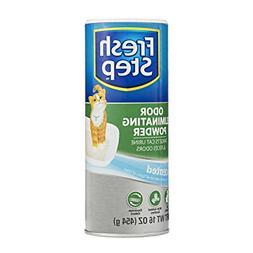 Fresh Step Cat Litter Box Odor Eliminating Powder   Cat Deod