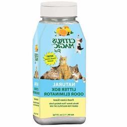 Citrus Magic Litter Box Odor Eliminator Shaker Bottle, 11.2-