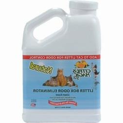 Citrus Magic Pet Litter Box Odor Eliminator Pure Linen, 40-O