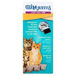 LitterMaid Odor Absorbing Litter Box Carbon Filters - Set of