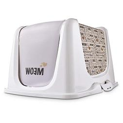 So Phresh Meow Cat Litter Box Privacy Hood, Large