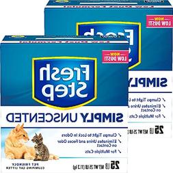 Fresh Step Multi-Cat, Clumping Cat Litter, Unscented