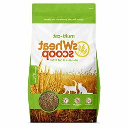 sWheat Scoop Multi-Cat All-Natural Clumping Cat Litter