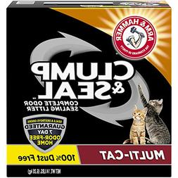 Arm & Hammer Multi-Cat Clump & Seal Clumping Litter, 14-Poun