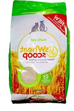 sWheat Scoop Multi Cat Litter, 25 lb