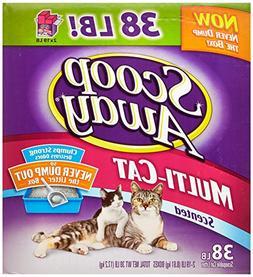 Scoop Away Multi-Cat, Scented Cat Litter, 38 Pound Carton