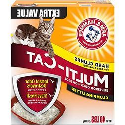 Arm & Hammer Multi-Cat Litter, 40 Lbs
