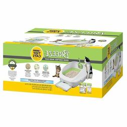 Multiple Cat Alternative Litter Box Kit System Odor Control,