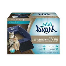 LitterMaid Mutliple Cat Self-Cleaning Litter Box Regular Sco