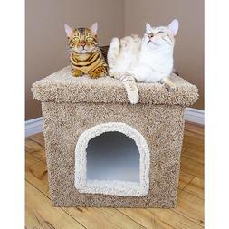 New Cat Condos Premier Large Litter Box Enclosure FREE SHIPP