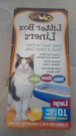 New cat litter box liners