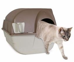 NEW! Self-Cleaning Litter Box Cat Kitten Easy Roll Pullout &