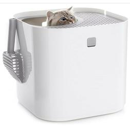 New, unopened White Modkat Litter box, Includes Scoop and Re