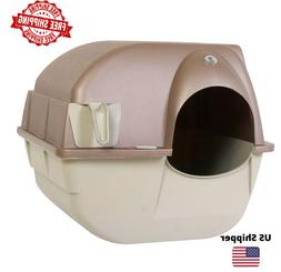 Omega Paw NRA15-1 Improved Roll 'n Clean Self Cleaning Litte
