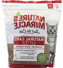 Nature's Miracle Odor Control Corn Cob Clumping Cat Litter,