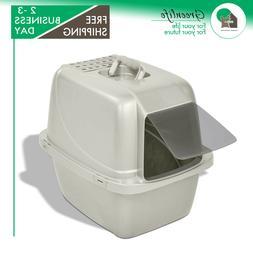 Van Ness Odor Control Large Enclosed Cat Pan with Odor Door