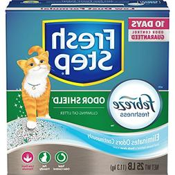 Fresh Step  Odor Shield Scented Litter with the Power of Feb