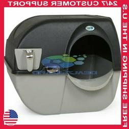 Omega Paw Elite Roll 'n Clean Self-Cleaning Litter Box size: