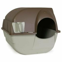 Omega Paw Roll N Clean Cat Litter Box Regular Self Cleaning