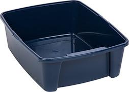 IRIS Open Litter Box, Blue