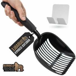 Gorilla Grip Original Cat Litter Scooper,Non-Stick Deep Scoo